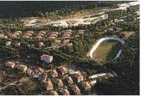 Vista aerea del velodromo