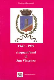 Copertina lilbro 1949 - 1999 cinquant'anni di San Vincenzo